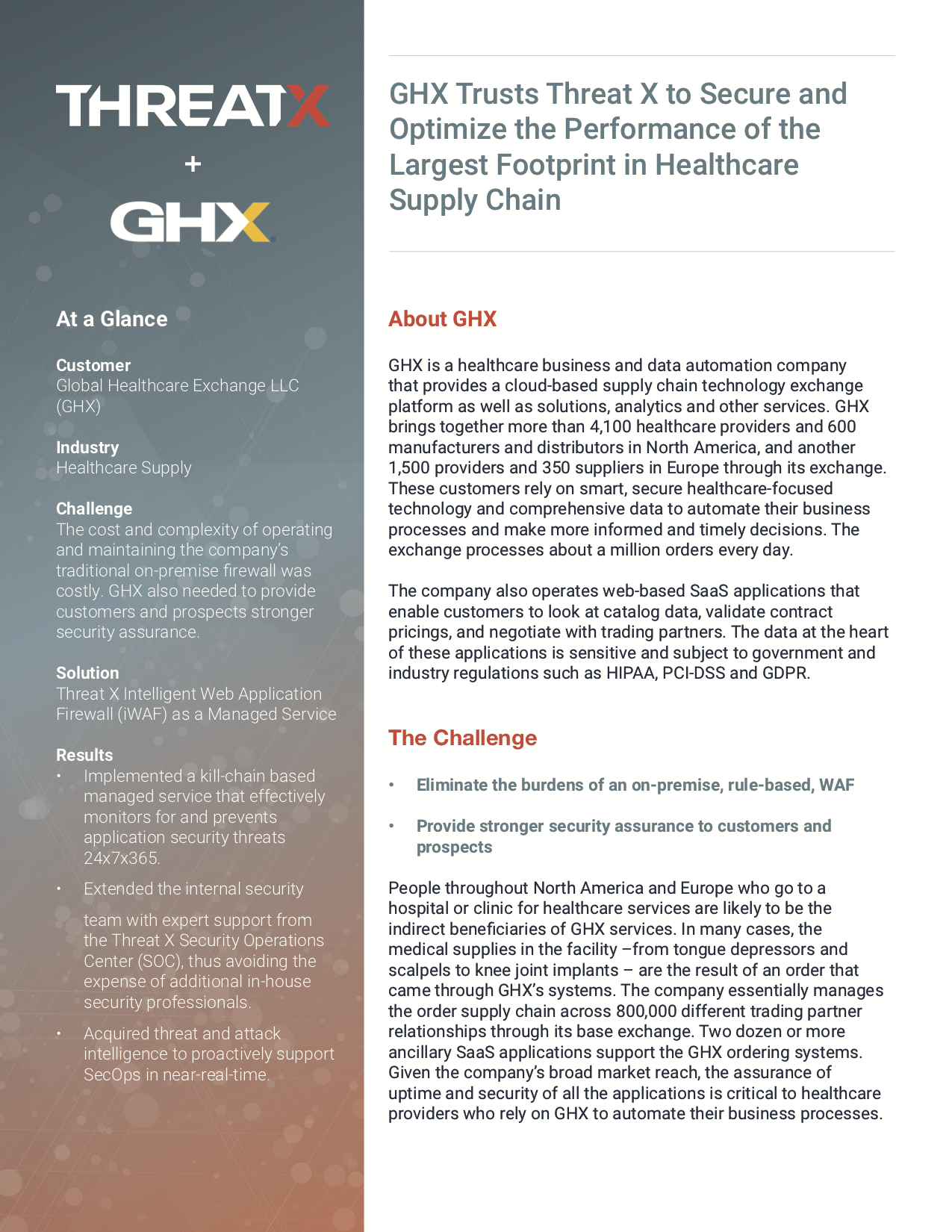 GHX Case Study Page 1